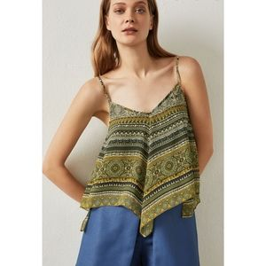 NEW BCBG Max Azria Handkerchief Kassidee cami